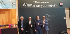 L'equip empresarial de la missió a Silicon Valley.